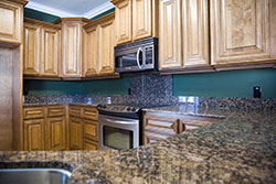 Denver Colorado Dark Granite kitchen - Denver Metro Stone City LLC